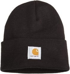 af46dbf0047 Extra Off Coupon So Cheap Carhartt Acrylic Beanie Hat Black Knit Hat Winter  Warm Cap Slouchy Mens Women