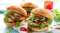 With no added fat, Sally Bee's spicy but healthy burgers are sure to tempt your tastebuds. As part of the Vow to Wow plan, why not try making these into mini meatballs instead and serve them with a green salad if you don't want to have bread with them.