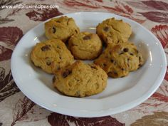 PUMPKIN CHOCOLATE CHIP COOKIES  Recipe:  https://www.facebook.com/notes/old-biloxi-recipes-by-sonya-fountain-miller/pumpkin-chocolate-chip-cookies-submitted-by-john-gutierrez/10151180409843914