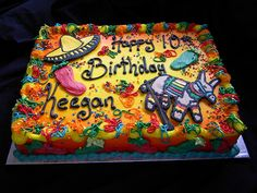 mexican fiesta cake - Google Search