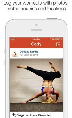 Not only is this app free, but it's one of the most useful health apps you'll ever find. It's great for people who do better with lots of support. You can share and find new workouts with a community of other people. You can also cheer each other on and comment on each other's progress. You can chart your stats and progress as well. What could be better than having tons of people around you in the virtual world to spur you on toward your goals?