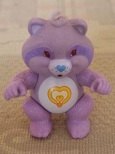 VINTAGE Care Bear Cousins - Bright Heart Raccoon - 1985 | eBay