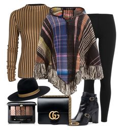 """Untitled #503"" by sparklemeetsclassic ❤ liked on Polyvore featuring Polo Ralph Lauren, Gucci, Missoni, Janessa Leone and Guerlain"