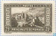 Monaco - View of the Principality 1933