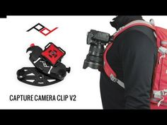 The CapturePRO® Camera Clip is a professional-quality camera clip with all the bells, whistles and compatibility options that a serious photographer or adventurer might want.