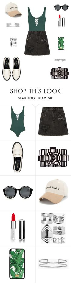 """Best of August"" by ila-rose ❤ liked on Polyvore featuring Topshop, Marc Jacobs, Nine West, Chanel, Givenchy, Boohoo, Dolce&Gabbana and Vita Fede"