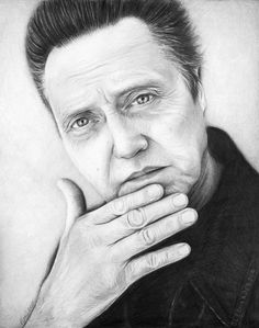 Items similar to Christopher Walken Portrait, Christopher Walken Art, ORIGINAL Pencil Drawing, Realistic Graphite Pencil, Original Artwork on Etsy Drawing Sketches, Pencil Drawings, Pencil Art, Artist Pencils, Traditional Artwork, Celebrity Drawings, Realistic Drawings, Portrait Art, Portraits