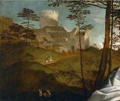 Titian. Sacred & profane love, detail