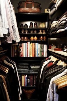 Where my clothes and accessories would be stored.