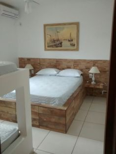 Decor, Bedroom Design, House Design, Adobe House, Bed Design, Furniture, Living Room Under Stairs, Rv Homes, Home Deco
