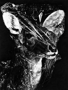 Maria Kriara,Untitled(detail), 2012,pencil on paper,60x120cm.