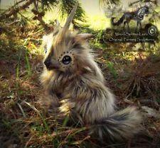 Poseable Hand Made Baby Fum! by Wood-Splitter-Lee on deviantART Fantasy Animal, Cute Fantasy Creatures, Cute Creatures, Magical Creatures, Beautiful Creatures, Fantasy Art, Wood Splitter Lee, Scary Birds, Mystical Animals