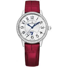 Jaeger LeCoultre Rendez-Vous Night & Day 29mm 3468422 Watch (€9.035) ❤ liked on Polyvore featuring jewelry, watches, stainless steel, stainless steel jewellery, polish jewelry, stainless steel jewelry, jaeger lecoultre watches and guilloche jewelry