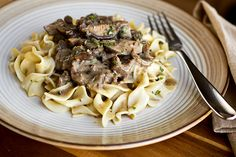 Post image for A Cozy Braise: Braised Beef In Mushroom and Cracked-Peppercorn Sauce, Tender To The Bone