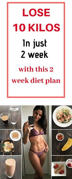 How to lose weight fast in two weeks- 2 week diet plan for fast weight loss Diet Meal Plans To Lose Weight, Workout To Lose Weight Fast, Best Diets To Lose Weight Fast, Help Losing Weight, Fast Weight Loss, Healthy Weight Loss, Weight Loss Tips, Healthy Diet Meal Plan, Healthy Eating