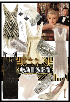 Love this book and this look! Inspired by: The Great Gatsby