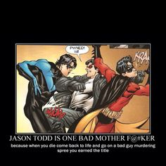 Jason Todd is bad motha fucka