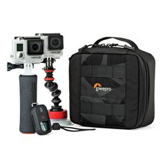 ViewPoint CS 60 From Lowepro - Safely Keep 2 GoPro or Other Action Video Cameras With Everything You will Need In 1 Handy Case *** Visit the image link more details. (This is an Amazon Affiliate link and I receive a commission for the sales)
