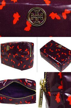 Tory Burch Violet Brigitte Cosmetic Bag