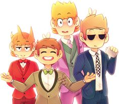Suit Bois by Lovely-White-Void