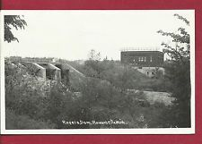 1948 HOWARD CITY MICHIGAN ROGERS DAM RPPC REAL PHOTO PICTURE POSTCARD
