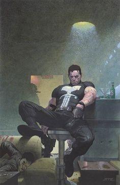 Esad Ribic ( The Punisher ) *