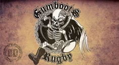 Gumboots Team Branding - Logo Design Newcastle - Dark Design Graphics | Graphic Design Newcastle