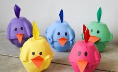 joyeuses Pâques -bricolage-enfants-boite-oeufs-poussins