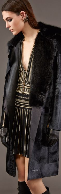 Roberto Cavalli 2015 ~ Class never goes out of style.