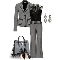Elegant Work Outfit!