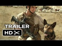 """Trailer For War Dog Movie 'Max' Will Make You Cry Your Heart Out ~""""Max"""" hits theaters 26 June stars Robbie Amell as Kyle Wincott, a U. Marine, killed in the line of duty. Max is so traumatized by his handler's death he's unable to work with anyone e Movies To Watch, Good Movies, War Dogs, Military Dogs, 2015 Movies, Family Movie Night, Belgian Malinois, Kids Tv, Tier Fotos"""