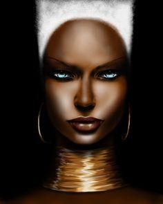 Black Women Art! http://www.pinterest.com/sokolovalioubov/art-beauty-of-africa/