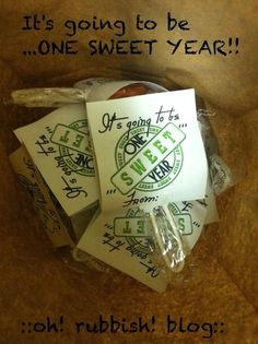 :: It's going to be one SWEET year! :: Welcome Back School Treats :: Back to School Favors ::
