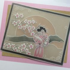 Artwork designed by Barbara Gray using Clarity stamps and products. The home of clear stamps. Vellum Crafts, Paper Crafts, Hobbies And Crafts, Crafts To Make, Barbara Gray Blog, Parchment Cards, Artwork Design, Clear Stamps, Cardmaking