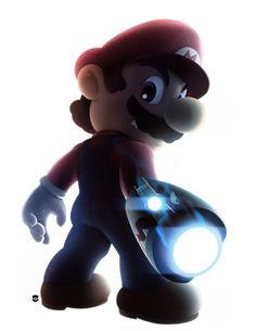 Mario with a Gun!