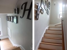 stairway galleries, shadow boxes