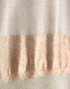 DecoriaLab : Fabiana Filippi Beige Bronze Pullover Details
