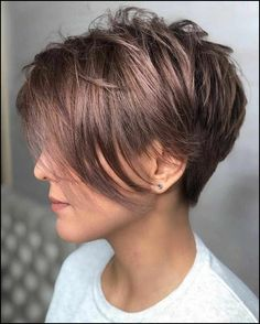 40 Cute Short Haircuts for Women 2019 - Short hairstyles for many women have a v. - 40 Cute Short Haircuts for Women 2019 – Short hairstyles for many women have a very fine hair str - Cute Short Haircuts, Haircuts For Fine Hair, Short Hairstyles For Women, Hairstyles Haircuts, Haircut Short, Messy Pixie Haircut, Short Hair Long Bangs, Asymmetrical Pixie Haircut, Edgy Pixie Haircuts