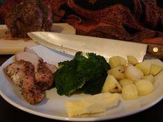 Recipe: James Beard's Sage Pork Roast with Apples
