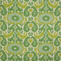 Apple Green Ikat