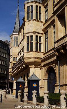 Palacio del Gran Duque de Luxemburgo en Ciudad de Luxemburgo