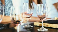 Wine glasses (Credit: Alamy)
