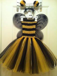 Bumble Bee Tutu dress/ Halloween costume by MonkeyTutus on Etsy, $30.00