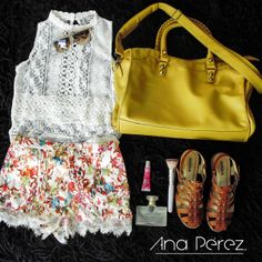 O U T F I T    #VivalaPrimavera #boutique #moda #shopp #streetstyle #primavera #shoes #bags #love