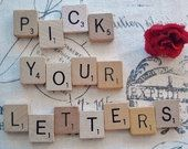 We can make you magnets or jewelery with whatever scrabble tiles you want!!!!! You pick your letters and we will do it for you!!!!!!!! Makes for great Christmas and party favors!!!!!! Plus who doesn't want to do some early Christmas shopping!!!!! #scrabble#partyfavors#youchose #http://www.etsy.com/shop/DIYSuppliesEmporium