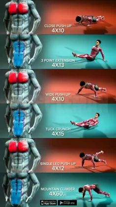 Abs And Cardio Workout, Fitness Workouts, Gym Workouts For Men, Gym Workout Chart, Full Body Gym Workout, Workout Routine For Men, Gym Workout Videos, Gym Workout For Beginners, Chest Workouts