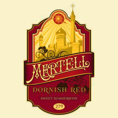 Martell Dornish Red Wine Game of Thrones T-Shirt