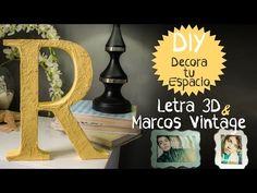 Haz letras para decorar! - YouTube