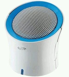 iSound DuraWaves Rugged Water-Resistant Rechargeable Bluetooth Speaker White