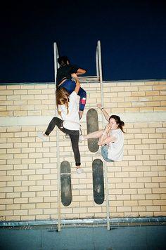 #skate #viveosonho #girl #proibido #desafiaasleis